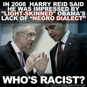 Harry Reid actually sounds racist, unlike Cliven Bundy