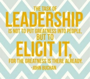 Famous Leadership Quotes By Famous People The task of leadership is ...