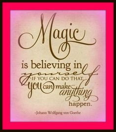 Do You Believe in Magic? #Quote #Motivation #Inspiration #Magic More