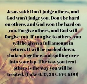 Jesus said...