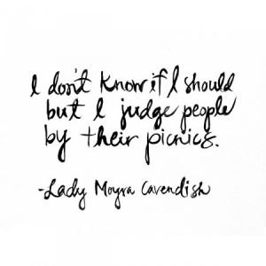 picnics quote