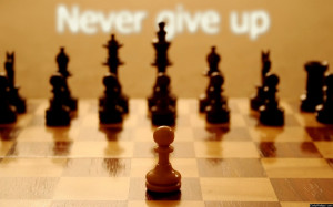 Never Give Up Quotes! If you are going through hell, keep going!