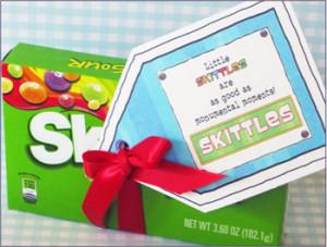 candy sayings, missionary candy sayings, missionary gift ideas