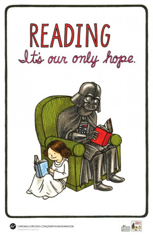 Vader's Little Princess – Darth Vader was a good father…