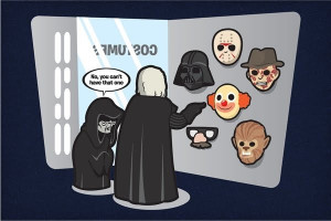 Darth Vader's First Choice for a Mask