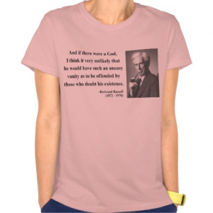 Bertrand Russell Quote 3b T Shirt