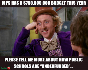 Wonka's sarcasm can be biting, but is there some truth to it?