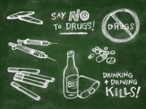 ... or are the anti-drug messages and slogans missing their mark