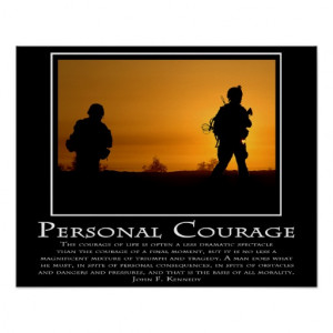 Personal Courage Poster