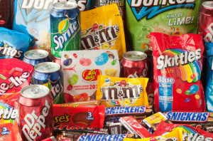Junk food is food that has low nutritional value, typically produced ...