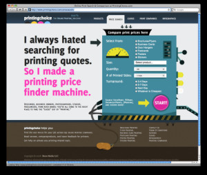 Online Printing Quote Machine