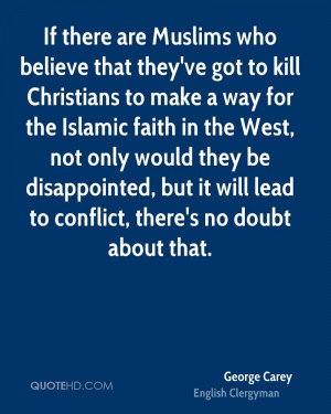 George Carey Faith Quotes