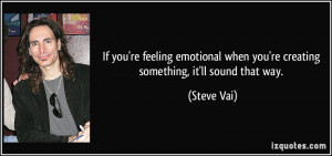 More Steve Vai Quotes