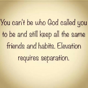 Separation from whom those that dont have the same values in serving ...