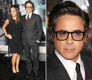 Robert Downey Jr. and Susan Downey at the 'Unknown' premiere in L.A ...