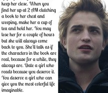 , edward cullen, girl, imaginable, life, love, quote, quotes, quotes ...