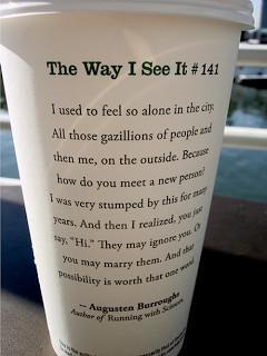 The Way Starbucks See's It