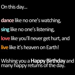 world is birthday cake all the world is birthday cake