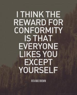 Conformity Quote 1