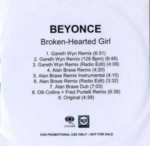 Quotes For Broken Hearted Girl ~ Beyonce Knowles Broken-Hearted Girl ...