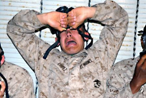 Marine recruit mom