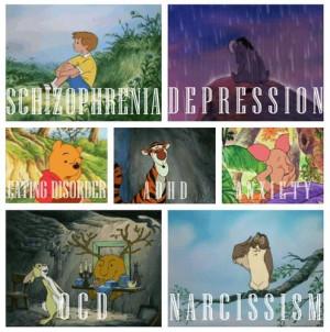 ... Disorder, Psychology 101, Winnie The Pooh, Mental Disorder