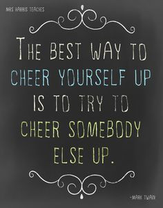 Cheer Up - It's a Poster Freebie More
