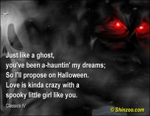 Halloween Love Quotes. QuotesGram