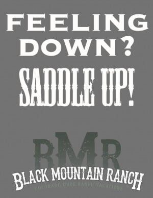 Cowboy Quotes And Sayings Horse quotes, feeling down,