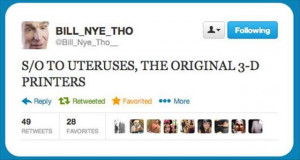 funny bill nye twitter quotes