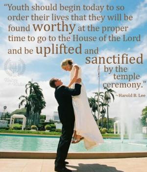 lds wedding quotes mormons mama church stuff preparing today lds ...