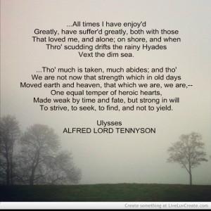 Ulysses Poem Better
