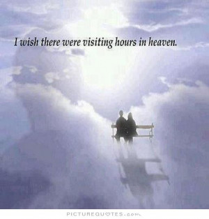 Heaven Quotes And Sayings In heaven picture quote #1