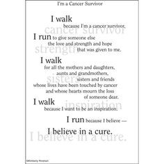 Dinglefoot's Scrapbooking - I'm A Cancer Survivor - Poem For A Page ...