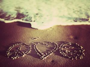 Peace, Love & Happiness by iamscottiew