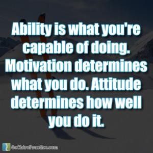Motivational Quotes About Determination Motivational quotes about