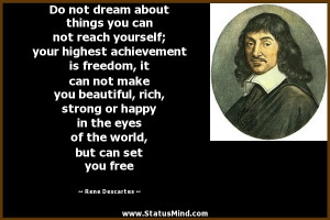 Rene Descartes Quotes
