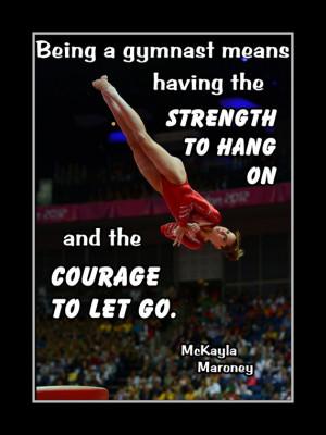 Gymnastics Poster McKayla Maroney Photo Quote Wall Art Print 5x7 ...