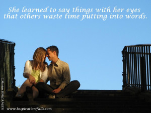 Inspirational picture with Quotation about Flirts