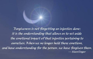 Forgiveness is the fragrance that the violet sheds on the heel that ...