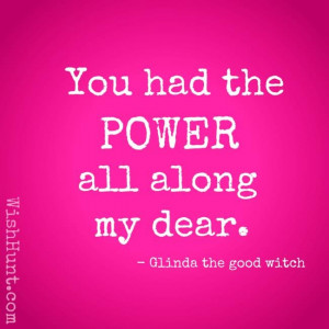 glinda the good witch quotes