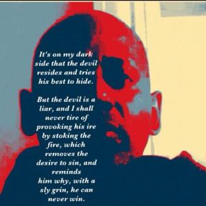 The Devil Is A Liar Print by Nigel Williams