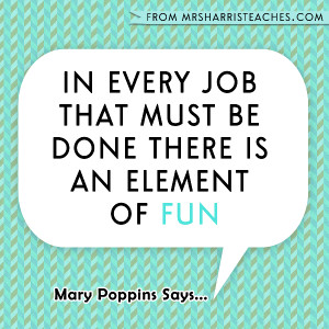 ... in as teachers in a workplace. Are you finding the fun in your job
