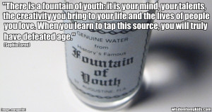 life quote about youth