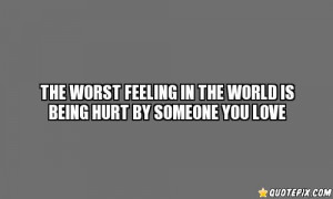 The Worst Feeling In The World!!