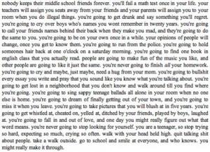 ... phrases # quote # nobody # middleschool # school # teachers # homework