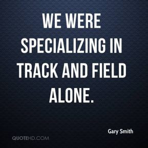 Track And Field Quote