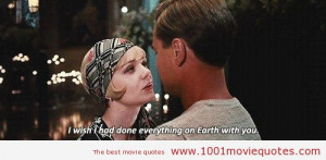 The Great Gatsby (2013) – movie quote