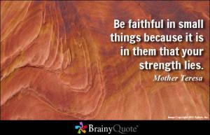 Mother Teresa Sayings