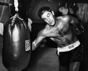 Great New Rocky Marciano Black and White Highlight Clips Now on ...